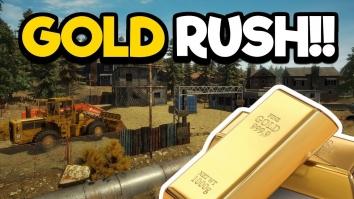 Gold Rush Sim взлом (Мод много денег)