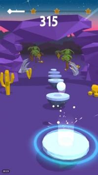 Hop Ball 3D взломанный (Мод много денег)