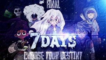 7Days: Выбери свою судьбу взломанный (Мод много билетов)