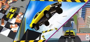Ramp Car Jumping взломанный (Мод много денег)