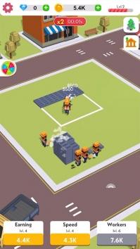 Idle Construction 3D взломанный (Мод много денег)