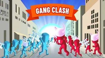 Gang Clash взломанный (Мод много денег)