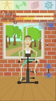 Muscle clicker: Gym game взломанный (Мод много денег)
