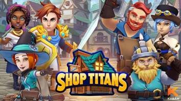 Shop Titans: дизайн и Сделка взломанный (Мод много денег)
