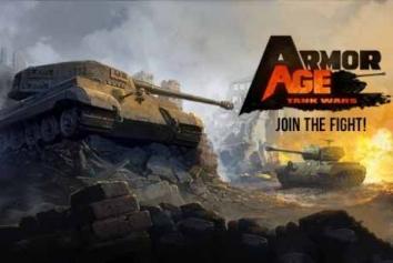 Взломанный Armor Age: Tank Wars (Мод много денег)