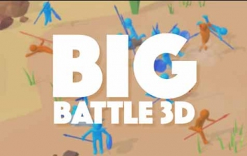 Взломанный Big Battle 3D (Мод много денег)