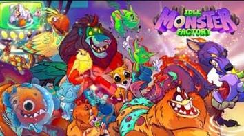 Idle Monster Factory взломанный (Мод много денег)