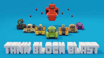 Tank Block Blast взломанный (Мод много алмазов)