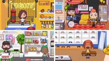Miga Город :магазин полная версия (взлом)