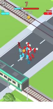 Cross Fight взломанный (Мод много денег)