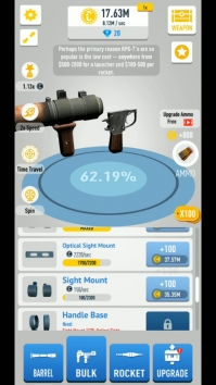 Idle Guns 3D взломанный (Мод много денег)