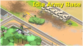 Idle Army Base взломанный (Мод много денег)