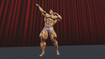Iron Muscle 2 - Bodybuilding and Fitness game взломанный (Мод много денег)