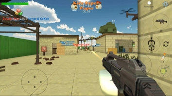 Chickens Gun взломанный (Мод много денег)