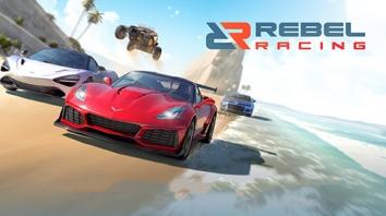Rebel Racing взломанный (Мод много денег)