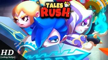 Tales Rush! взломанный (Мод на алмазы)