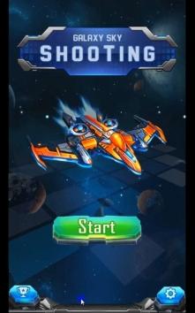 Galaxy sky shooting взломанный (Mod: много денег)