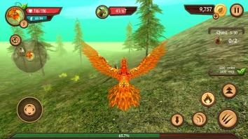 Phoenix Sim 3D взломанный (Мод много денег)
