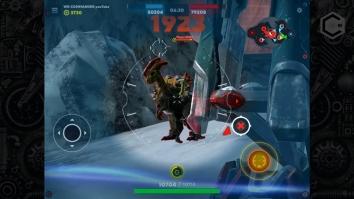 Dino Squad: Онлайн PvP схватки огромных динозавров взломанный (Мод много денег)