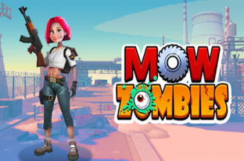 Mow Zombies взломанный (Мод много алмазов и денег)