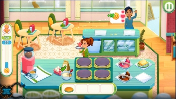 Delicious World - Romantic Cooking Game взломанный (Мод много денег)