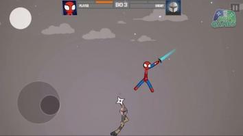 Stickman Fighting - Stickman Supreme Warriors взломанный (Мод много денег)