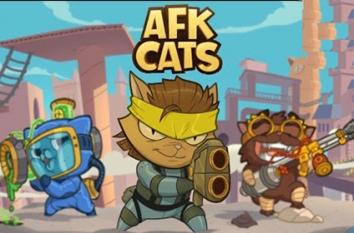 Взломанный AFK Cats (Мод много денег)