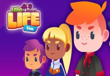 Idle Life Sim - Simulator Game взломанный (Мод много алмазов)
