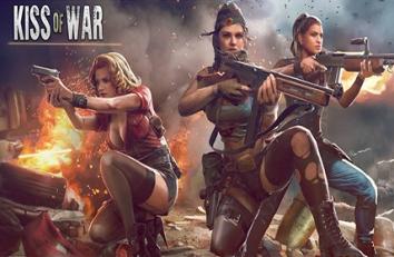 Kiss of War взломанный (Mod много денег)