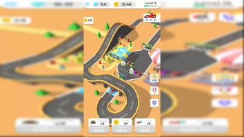 Idle Racing Tycoon-Car Games взломанный (Мод много денег)