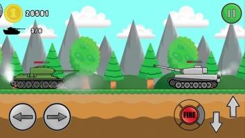 Взломанный Tank Attack (Мод много денег)