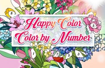 Happy Color – раскраска по номерам взломанный (Мод все открыто)