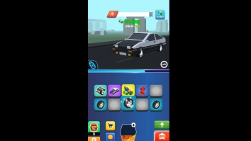 Night Race - Idle Car Merger взломанный (Мод много денег)