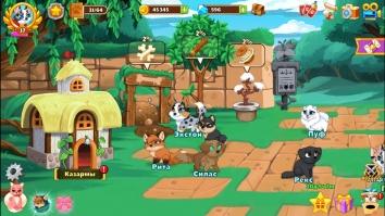 Взломанный Собаки подземелья - Ленивая ролевая игра (Мод много денег)