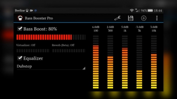 BASS Booster Pro (Мод все открыто / полная версия)