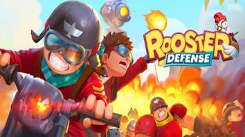 Взломанный Rooster Defense (Мод много денег)