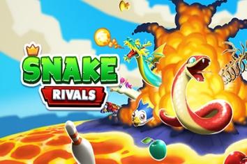 Snake Rivals взломанный (Мод много денег)