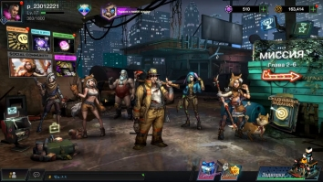 Battle Night: Cyber Squad-Idle RPG взломанный (Mod: много денег и алмазов)