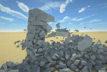 Разрушительная физика симулятор 3д разрушений взломанный (Mod: все открыто)