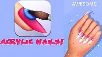Acrylic Nails! взломанный (Мод без рекламы/все открыто)
