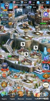 MythWars & Puzzles: RPG взломанный (Мод много кристаллов)