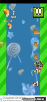 Candy Cat взломанный (Мод меню/много конфет)