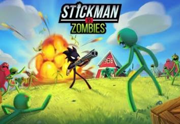 Stickman vs Zombies: Зомби шутер с человечком взлом (Мод много денег)