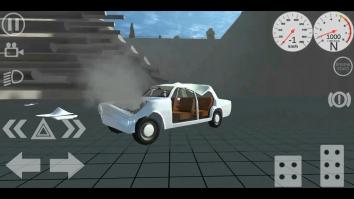 Simple Car Crash Physics Simulator Demo полная версия (взломанный)
