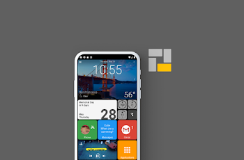 Взлом Square Home - Launcher: Windows style (Mod: pro)
