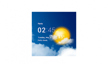 Прозрачные часы и погода взлом (Мод pro)