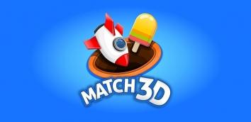 Взломанный Match 3D - Matching Puzzle Game (Мод много денег)