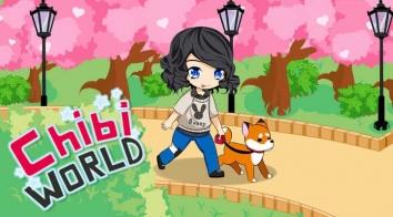 Chibi World взломанный (Мод много денег)