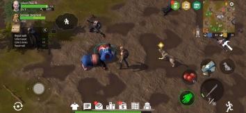 Взломанный Zombie Survival: Wasteland (Мод меню/бесплатный крафт)
