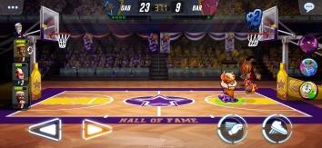 Взломанный Basketball Arena (Мод много денег)